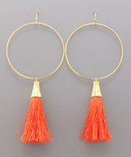 Tassel & Ring Earrings