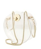 Round Clear Crossbody Bag