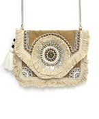 Coin & Fringe Clutch