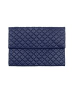 Quilted Foldover Clutch
