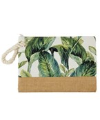 Embroidred Jute Pouch