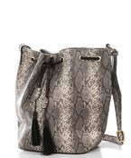 SnakeSkin Drawstring Bag