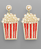 Popcorn Bead Earrings