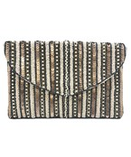 Pearl & Sequin Lined Clutch