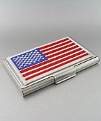 US Flag Card Holder