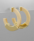 Metal Covered Wood Hoops