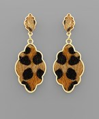 Leopard Arabesque Earrings