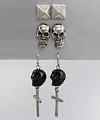 Skull Earring Set