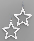 Color Colat Star Earrings