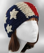 USA Crochet Headband