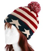American Knit Hat.