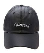GAME DAY  Leather Baseball Cap