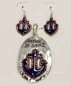 Anchor Pendant Set