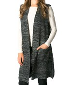 Knitted Sweater Vest w/Pockets