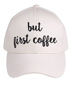 BUT FIRST COFFEE Baseball Cap