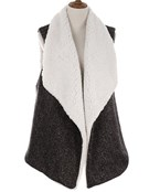Shearling Lined Vest