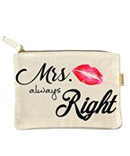 Mrs. Always Right Pouch