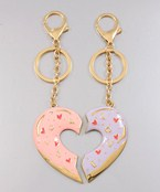 Heart Key Chain Set
