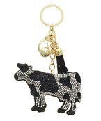 Cow Paved Key Chain