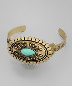 Tribal Oval Cuff