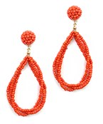 Multi Bead Teardrop Earrings