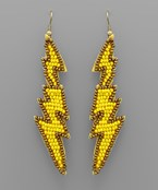 Bead Lightning Earrings
