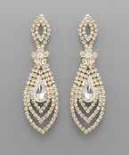Marquise Pave Earrings
