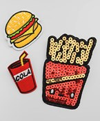 Food Theme Patch Set