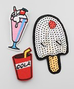 Ice Cream Theme Patch Set
