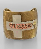 Blessed Cross Cuff
