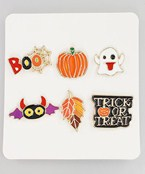 Halloween Theme Pin Set