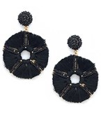 Tassel Wheel Earrings