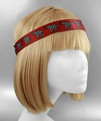Houndstooth Elephant Headband