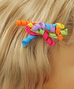 Ribbon Curls Hair Pin Set