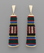 Serape Bar Earrings