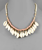 Cowry Shell Layer Necklace