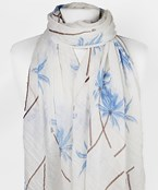 Palm Tree Print Scarf