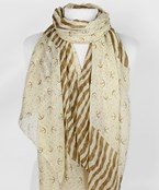 Anchor & Stripe Scarf