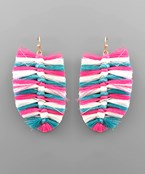 Tassel Feather Earrings