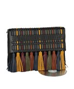 Multi Color Fringe  Crossbody