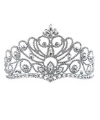 Crystal Scroll Tiara