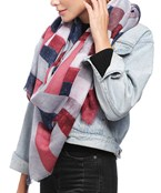 Abstract Watercolor Square Scarf