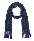 Cable Knit Skinny Scarf