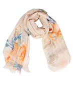 Flower Mixed Print Scarf