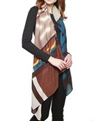 Mixed Print Oblong Scarf