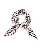 Pebble Print Traingular Scarf
