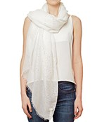 Sequin Accent Solid Scarf