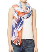 Tropical Flower Sarong Scarf