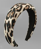 Leopard Puffy Headband