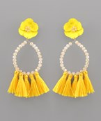 Blossom & Tassel Earrings